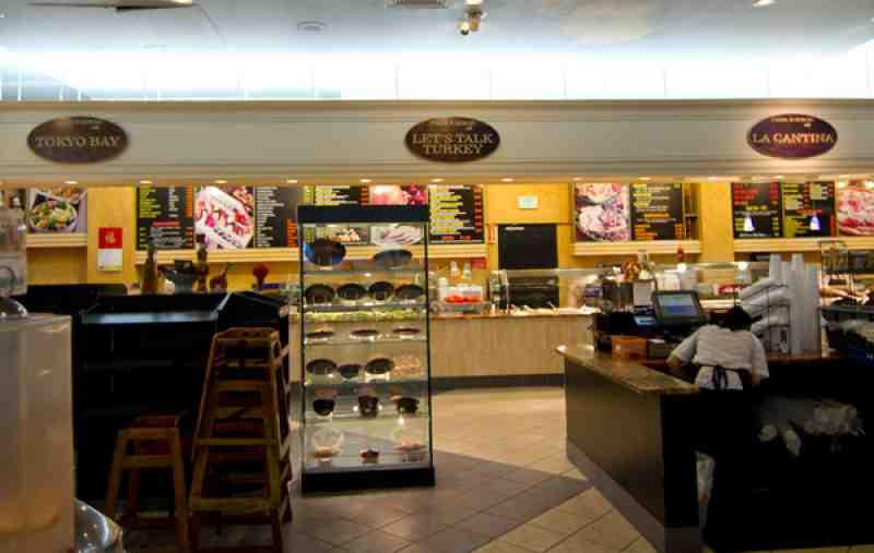 Broward Mall Food Court Restaurants