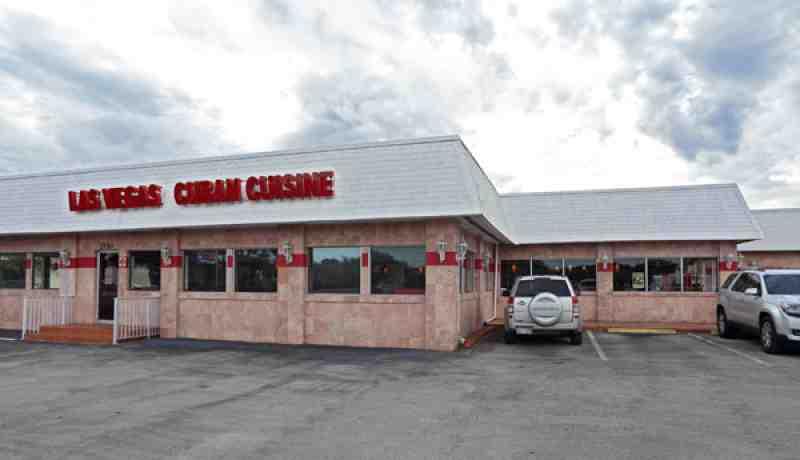 Las Vegas Cuban Restaurant Menu Pembroke Pines