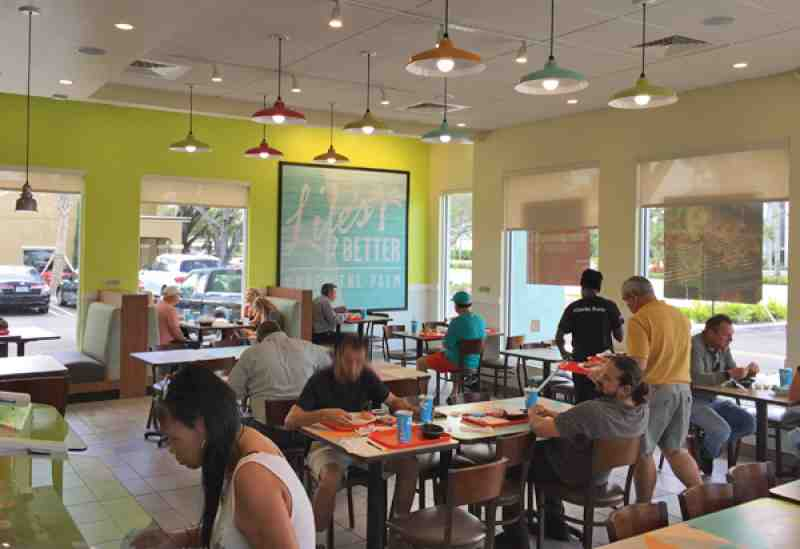 Review Of Pollo Tropical 33308 Restaurant 5554 Federal Hwy