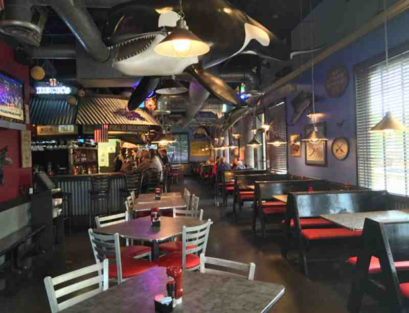 Review of the whale raw bar fish house restaurant